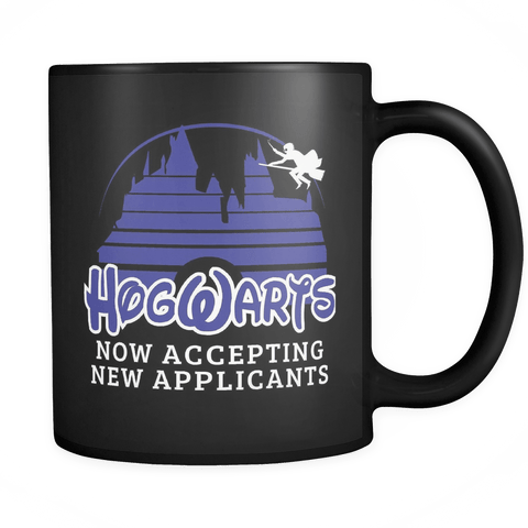 Hogwarts Castle Mug - Now accepting new applications Disney Coffee Cup - Luxurious Inspirations