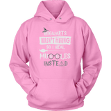 Hogwarts Wasn't Hiring So I Heal Muggles Instead Hoodie - Funny Nurse Doctor Medical Magical Tee Shirt T-Shirt Sweatshirt T-shirt teelaunch Unisex Hoodie Pink S