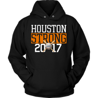 Houston Strong 2017 Champions Hoodie - Great Baseball Fan Sweatshirt T-shirt teelaunch Unisex Hoodie Black S