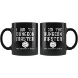 I Am The Dungeon Master Your Argument Is Invalid Funny DND RPG Tabletop Mug - Fun DM Coffee Cup - Luxurious Inspirations