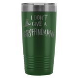 I Don't Give A Gryffindamn Engraved 20oz Tumbler Cup - Funny Offensive Parody Beer Wine Mug Tumblers teelaunch Green
