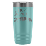 I Don't Give A Gryffindamn Engraved 20oz Tumbler Cup - Funny Offensive Parody Beer Wine Mug Tumblers teelaunch Light Blue
