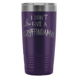I Don't Give A Gryffindamn Engraved 20oz Tumbler Cup - Funny Offensive Parody Beer Wine Mug Tumblers teelaunch Purple