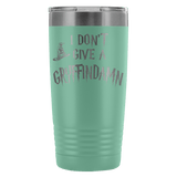 I Don't Give A Gryffindamn Engraved 20oz Tumbler Cup - Funny Offensive Parody Beer Wine Mug Tumblers teelaunch Teal