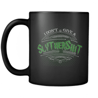 I Don't Give A Gryffindamn Slythershit Hufflefuck Ravencrap Mug - Funny Offensive Vulgar Fan Coffee Cup (Slythershit) - Luxurious Inspirations