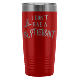 I Don't Give A Slythershit Engraved 20oz Tumbler Cup - Funny Offensive Parody Beer Wine Mug Tumblers teelaunch Red