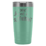 I Don't Give A Slythershit Engraved 20oz Tumbler Cup - Funny Offensive Parody Beer Wine Mug Tumblers teelaunch Teal