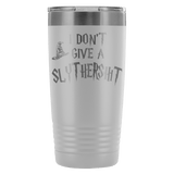 I Don't Give A Slythershit Engraved 20oz Tumbler Cup - Funny Offensive Parody Beer Wine Mug Tumblers teelaunch White