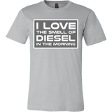 I Love The Smell Of Diesel In The Morning Shirt - Mechanic Trucker Tee - Luxurious Inspirations