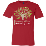 I Met My Wife On Ancestry.com Shirt - Funny Offensive Tee - Luxurious Inspirations