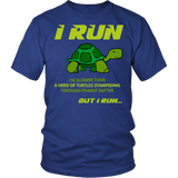 I Run Slower Than A Turtle Shirt - Funny Runnig Marathon Workout Tee - Luxurious Inspirations