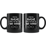 I solemnly swear that I am up to no good Mug - Funny Harry Magic Wizard World Upto Joke Coffee Cup - Luxurious Inspirations