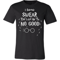 I Solemnly Swear That I Am Up To No Good Shirt - Funny Harry Tee - Luxurious Inspirations