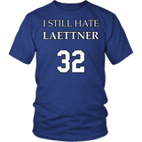 I Still Hate Laettner Shirt - Funny 32 Fan Tee T-shirt teelaunch District Unisex Shirt Royal Blue S