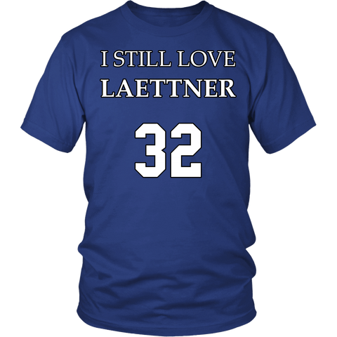 I Still Love Laettner Shirt - Funny 32 Fan Tee T-shirt teelaunch District Unisex Shirt Royal Blue S