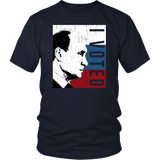 I Voted Putin Anti-Trump Shirt T-shirt teelaunch District Unisex Shirt Navy S