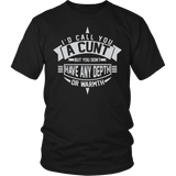 I'd Call You A Cunt Shirt - Funny Offensive Adult Tee T-shirt teelaunch District Unisex Shirt Black S