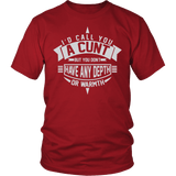 I'd Call You A Cunt Shirt - Funny Offensive Adult Tee T-shirt teelaunch District Unisex Shirt Red S