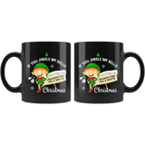 If You Jingle My Bells I Guarantee You A White Christmas Mug - Funny Offensive Vulgar Adult Humor Elf Coffee Cup - Luxurious Inspirations