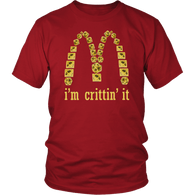 I'm Crittin' It Parody DND T-Shirt - Funny D20 Critical Joke Tee Shirt - Luxurious Inspirations