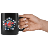 I'm Not Drunk I'm Just A Little Patriotic Mug - Funny Drinking Alcohol 4th Of July Patriot American Coffee Cup Drinkware teelaunch