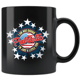 I'm Not Drunk I'm Just A Little Patriotic Mug - Funny Drinking Alcohol 4th Of July Patriot American Coffee Cup Drinkware teelaunch black