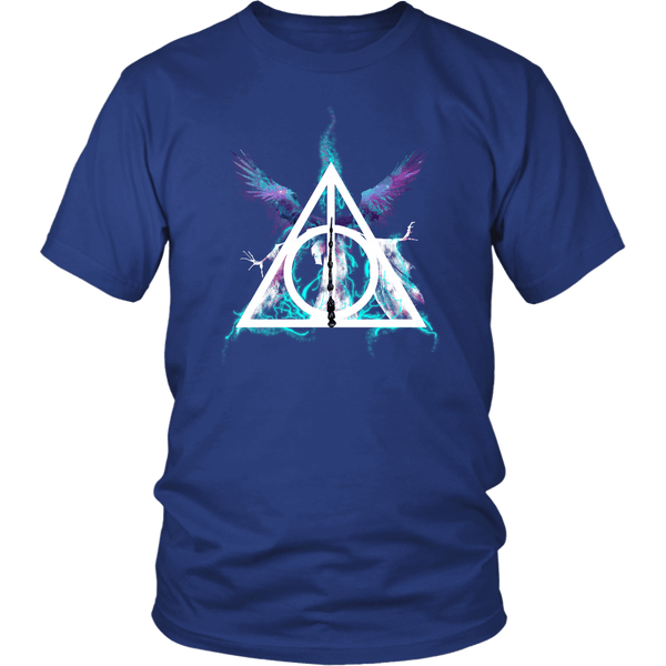 Infinite Power Shirt T-shirt teelaunch District Unisex Shirt Royal Blue S