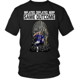 Inflated Deflated Nerf Same Outcome Shirt - Funny 12 GOAT Fan Tee - Luxurious Inspirations