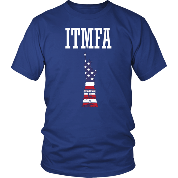 ITMFA Impeach That Motherfucker Already T-Shirt - Anti-Trump Tee - Luxurious Inspirations