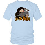 It's So Fluffy Hagrid 3 Headed Dog Magical T-Shirt T-shirt teelaunch District Unisex Shirt Ice Blue S