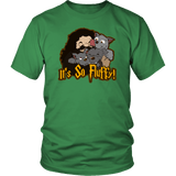 It's So Fluffy Hagrid 3 Headed Dog Magical T-Shirt T-shirt teelaunch District Unisex Shirt Kelly Green S