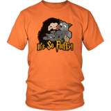 It's So Fluffy Hagrid 3 Headed Dog Magical T-Shirt T-shirt teelaunch District Unisex Shirt Orange S