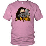 It's So Fluffy Hagrid 3 Headed Dog Magical T-Shirt T-shirt teelaunch District Unisex Shirt Pink S