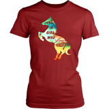 Just A Girl Who Loves Horses Shirt - Equestrian Horse Riding Tee - Luxurious Inspirations