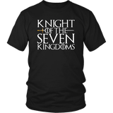 Knight Of The Seven Kingdoms T-Shirt - Brienne Thrones Fan Dragons Tee Shirt - Luxurious Inspirations