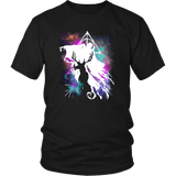 Light And Dark Magic Shirt T-shirt teelaunch District Unisex Shirt Black S