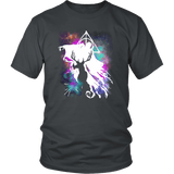 Light And Dark Magic Shirt T-shirt teelaunch District Unisex Shirt Charcoal S