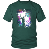 Light And Dark Magic Shirt T-shirt teelaunch District Unisex Shirt Dark Green S