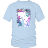 Light And Dark Magic Shirt T-shirt teelaunch District Unisex Shirt Ice Blue S