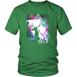 Light And Dark Magic Shirt T-shirt teelaunch District Unisex Shirt Kelly Green S