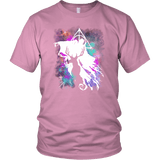 Light And Dark Magic Shirt T-shirt teelaunch District Unisex Shirt Pink S