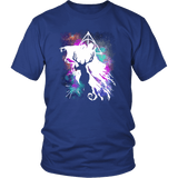 Light And Dark Magic Shirt T-shirt teelaunch District Unisex Shirt Royal Blue S