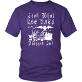 Look What The Bats Dragged In Halloween Goth Gothic Scary Horror T-Shirt - Luxurious Inspirations