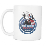 Make America Get Schwifty Again Mug - Rick & Morty Fan Tee For 2020 President Coffee Cup Drinkware teelaunch