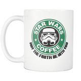 May The Froth Be With You Star Wars Mug - Perfect Gift For Birthday Men Women Present Friend - Luxurious Inspirations