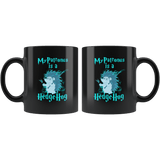 My Patronus Is A Hedgehog Mug - Luxurious Inspirations