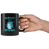 My Patronus Is A Hedgehog Mug Drinkware teelaunch