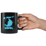 My Patronus Is A Narwhal Mug - Funny Wizard Magical Unicorn Of The Sea Coffee Cup Drinkware teelaunch