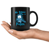My Patronus Is A Penguin Mug - Funny Wizard Winter Animal Loving Penguins Zoo Coffee Cup Drinkware teelaunch