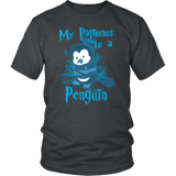 My Patronus Is A Penguin Shirt T-shirt teelaunch District Unisex Shirt Charcoal S